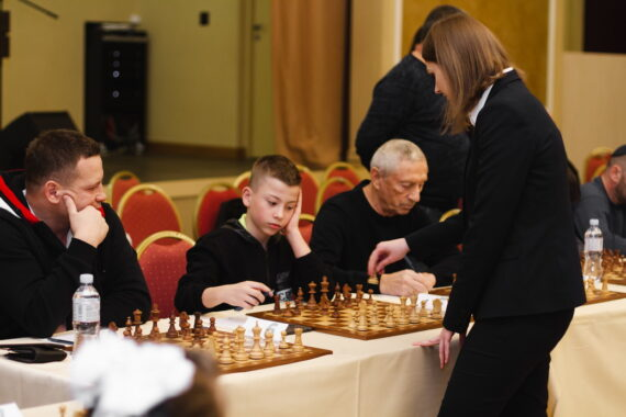 Сеанс одновременной игры с Анной Музычук 9 февраля 2020 г.